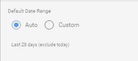 Google Data Studio - Date range